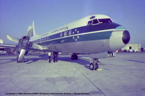img445 Lockheed L-188A Electra N1006T Evergreen International Airlines © Michel Anciaux