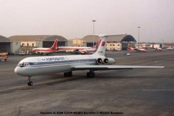 img539 Ilyushin IL-62M CCCP-86483 Aeroflot © Michel Anciaux