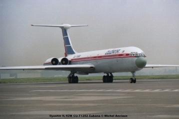 img605 Ilyushin IL-62M CU-T1252 Cubana © Michel Anciaux
