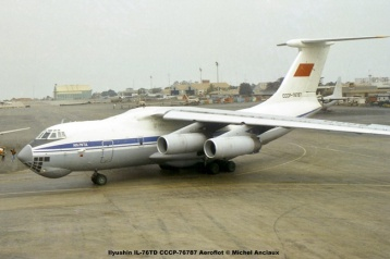 img623 Ilyushin IL-76TD CCCP-76787 Aeroflot © Michel Anciaux