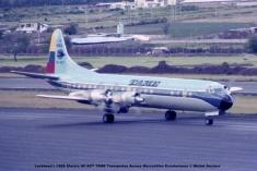 img641 Lockheed L-188A Electra HC-AZY TAME Transportes Aereos Mercantiles Ecuatorianos © Michel Anciaux
