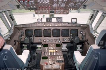 img652 Ilyushin IL-96M RA-96000 Ilyushin Design Bureau © Michel Anciaux