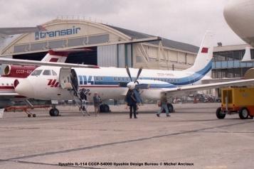 img655 Ilyushin IL-114 CCCP-54000 Ilyushin Design Bureau © Michel Anciaux