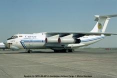 img671 Ilyushin IL-76TD 4K-AZ14 Azerbaijan Airlines Cargo © Michel Anciaux