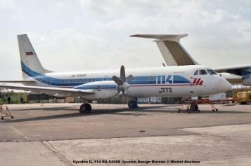 img713 Ilyushin IL-114 RA-54000 Ilyushin Design Bureau © Michel Anciaux