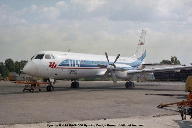 img715 Ilyushin IL-114 RA-54000 Ilyushin Design Bureau © Michel Anciaux