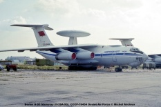 img759 Beriev A-50 Mainstay (Il-76A-50) CCCP-76454 Soviet Air Force © Michel Anciaux
