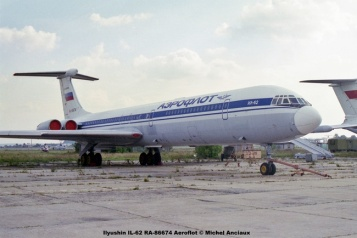 img761 Ilyushin IL-62 RA-86674 Aeroflot © Michel Anciaux