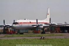 img796 Ilyushin Il-18LL RA-75423 Zhukovsky Res. Institute © Michel Anciaux