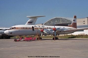 img803 Ilyushin IL-18D RA-75466 ATO © Michel Anciaux