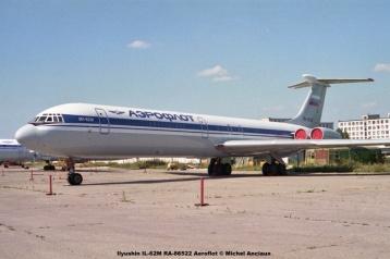 img805 Ilyushin IL-62M RA-86522 Aeroflot © Michel Anciaux