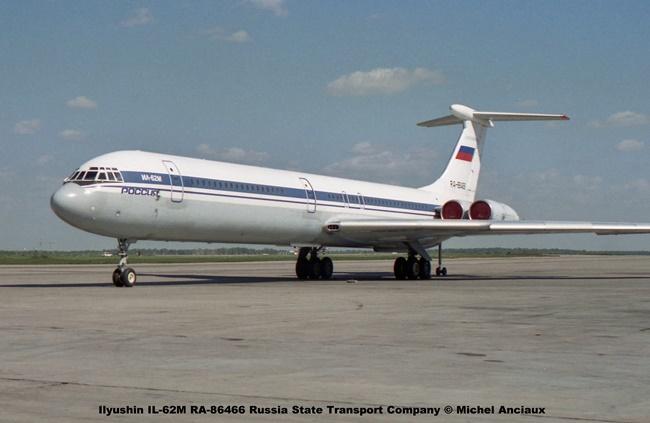 img816 Ilyushin IL-62M RA-86466 Russia State Transport Company © Michel Anciaux