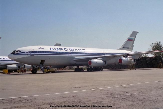 img823 Ilyushin IL-86 RA-86095 Aeroflot © Michel Anciaux