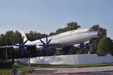img914 Tupolev Tu-114 CCCP-76464 Aeroflot © Michel Anciaux