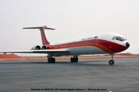 img917 Ilyushin IL-62M D2-TIG TAAG Angola Airlines © Michel Anciaux