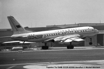 img923 Tupolev Tu-104B CCCP-42508 Aeroflot © Michel Anciaux
