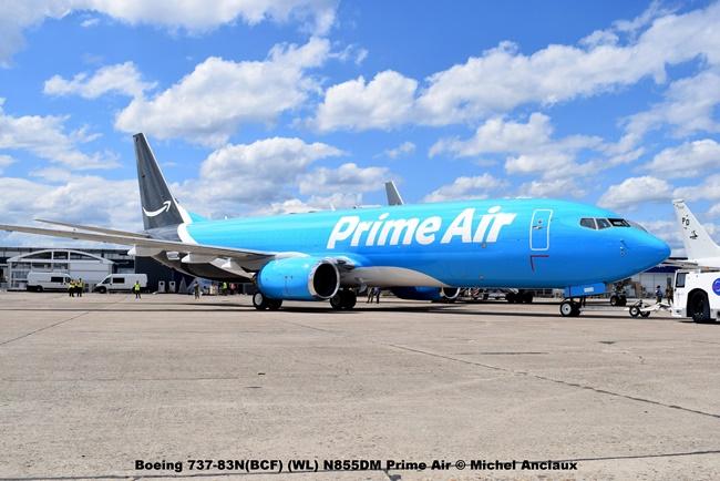 DSC_0004 Boeing 737-83N(BCF) (WL) N855DM Prime Air © Michel Anciaux