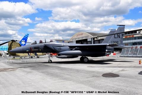 DSC_0010 McDonnell Douglas (Boeing) F-15E ''AF91332 '' USAF © Michel Anciaux