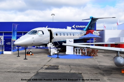 DSC_0018 Embraer EMB-550 Praetor 600 PR-ZTX Embraer © Michel Anciaux