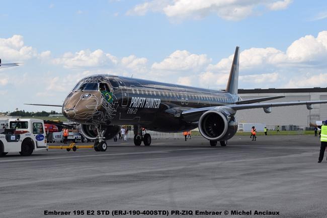 DSC_0021 Embraer 195 E2 STD (ERJ-190-400STD) PR-ZIQ Embraer © Michel Anciaux
