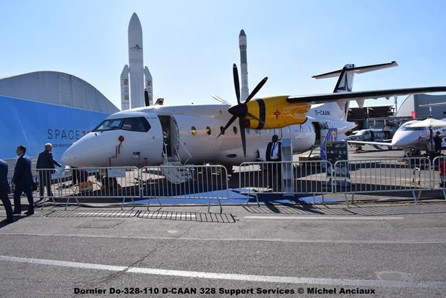 DSC_0093 Dornier Do-328-110 D-CAAN 328 Support Services © Michel Anciaux