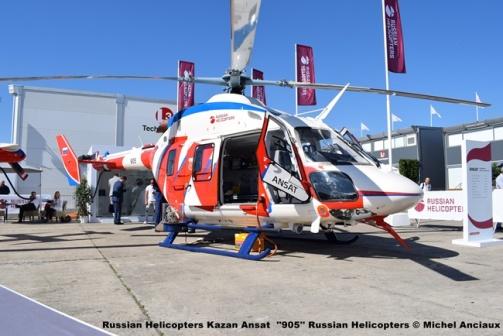DSC_0101 Russian Helicopters Kazan Ansat ''905'' Russian Helicopters © Michel Anciaux