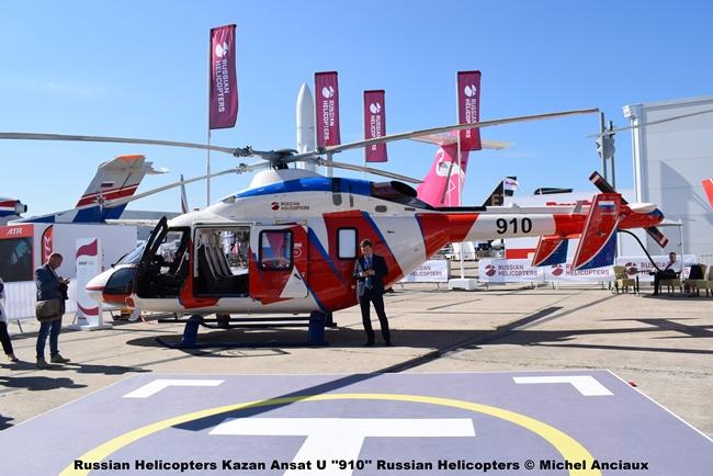 DSC_0117 Russian Helicopters Kazan Ansat U ''910'' Russian Helicopters © Michel Anciaux