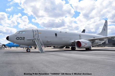 DSC_0141 Boeing P-8A Poseidon ''169002'' US Navy © Michel Anciaux