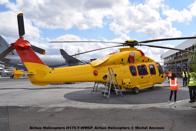 DSC_0148 Airbus Helicopters H175 F-WWOF Airbus Helicopters © Michel Anciaux