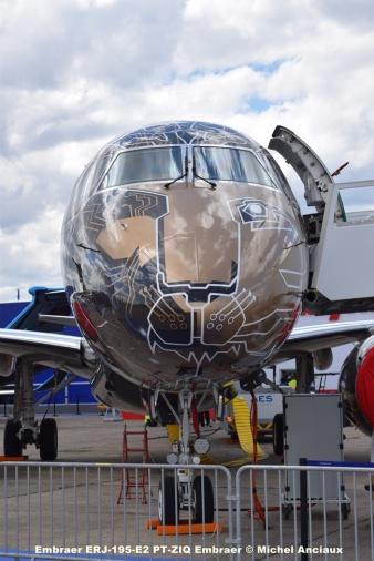 DSC_0148 Embraer ERJ-195-E2 PT-ZIQ Embraer © Michel Anciaux