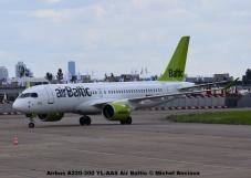 DSC_0151 Airbus A220-300 YL-AAS Air Baltic © Michel Anciaux