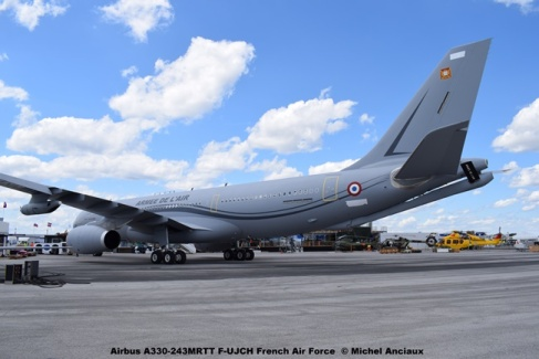 DSC_0152 Airbus A330-243MRTT F-UJCH French Air Force © Michel Anciaux