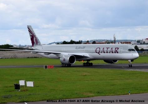 DSC_0156 Airbus A350-1041 A7-ANH Qatar Airways © Michel Anciaux