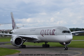 DSC_0165 Airbus A350-1041 A7-ANH Qatar Airways © Michel Anciaux