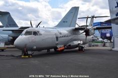 DSC_0165 ATR-72 MPA ´'78'' Pakistan Navy © Michel Anciaux