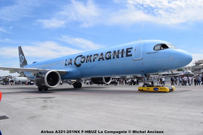 DSC_0166 Airbus A321-251NX F-HBUZ La Compagnie © Michel Anciaux