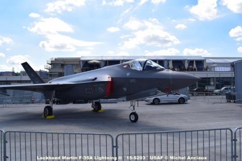 DSC_0168 Lockheed Martin F-35A Lightning II ´´15-5203´´ USAF © Michel Anciaux