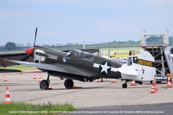 DSC_0218 Curtiss P-40N Kittyhawk F-AZKU ''2105915'' SNC Société de Développement et de Promotion de l'Aviation (SDPA) @ Michel Anciaux