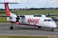 DSC_0241 De Havilland Dash 8 Q400 VT-ZTU SpiceJet © Michel Anciaux
