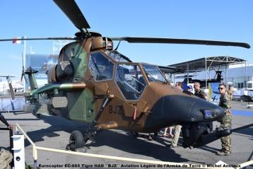 DSC_0310 Eurocopter EC-665 Tigre HAD ´´BJZ´´ Aviation Légère de l'Armée de Terre © Michel Anciaux