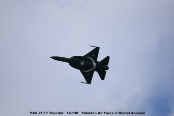 DSC_0375 PAC JF-17 Thunder ´´12-138´´ Pakistan Air Force © Michel Anciaux