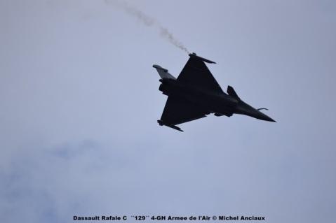 DSC_0449 Dassault Rafale C ´´129´´ 4-GH Armee de l'Air © Michel Anciaux