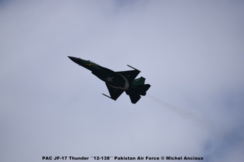 DSC_0506 PAC JF-17 Thunder ´´12-138´´ Pakistan Air Force © Michel Anciaux