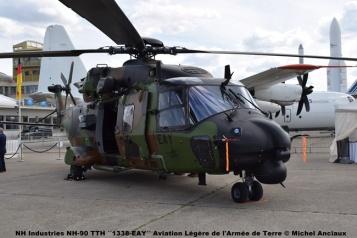 DSC_0598 NH Industries NH-90 TTH ´´1338-EAY´´ Aviation Légère de l'Armée de Terre © Michel Anciaux