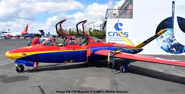 DSC_0647 Fouga CM-170 Magister F-GJMN © Michel Anciaux