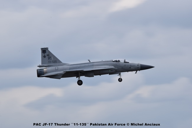 DSC_0990 PAC JF-17 Thunder ´´11-135´´ Pakistan Air Force © Michel Anciaux