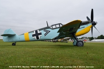 DSC_0079 HA-1112-M1L Buchon ''White 5'' (G-AWHR) Luftwaffe (Air Leasing Ltd) © Michel Anciaux
