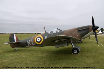 DSC_0094 Supermarine Spitfire Mk.1 X4650 KL-A (G-CGUK Royal Air Force (Commanche Warbirds) © Michel Anciaux