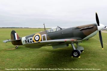 DSC_0101 Supermarine Spitfire MkIa P7308 XR-D (G-AIST) Royal Air Force (Spitfire The One Ltd.) © Michel Anciaux