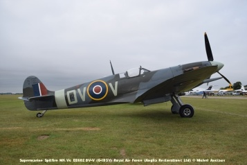 DSC_0133 Supermarine Spitfire MK Vc EE602 DV-V (G-IBSY) Royal Air Force (Anglia Restorations Ltd) © Michel Anciaux